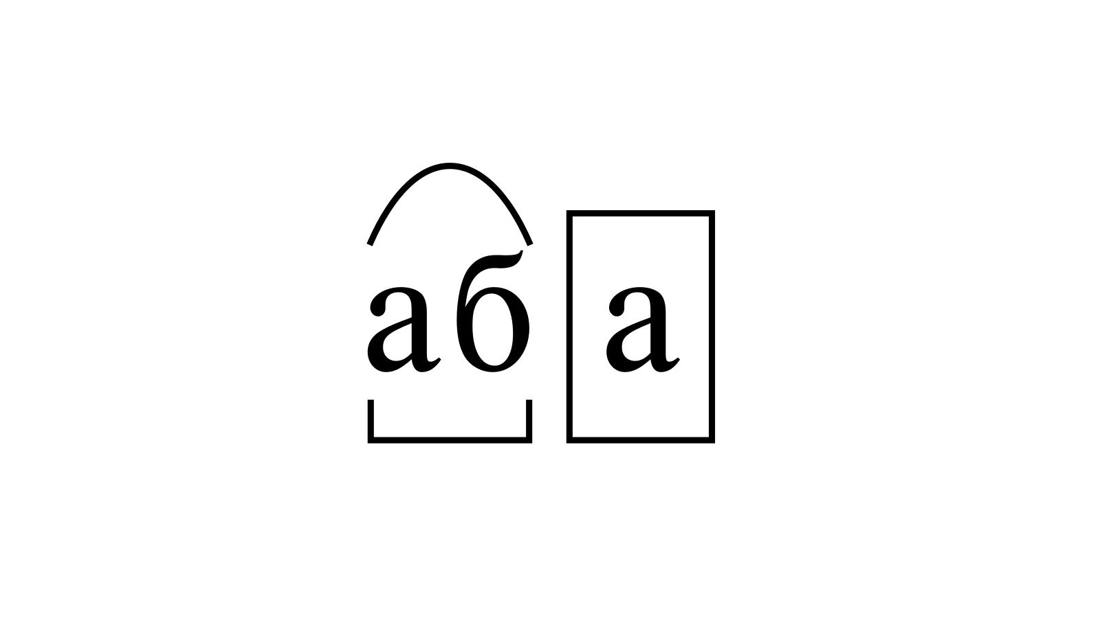 Разбор слова «аба» по составу